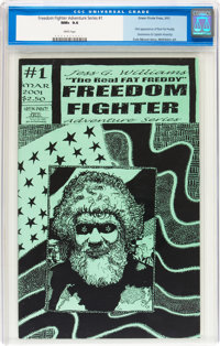 Freedom Fighter Adventure Series #1 (Green Pirate Press, 2001) CGC NM+ 9.6 White pages