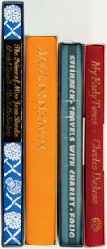 Books:Fine Press & Book Arts, [Fine Press]. [Literature]. Group of Four Titles. London: The FolioSociety, [various dates].... (Total: 4 Items)