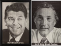 Political:Posters & Broadsides (1896-present), Reagan and Schweiker: Matching Posters.... (Total: 2 Items)