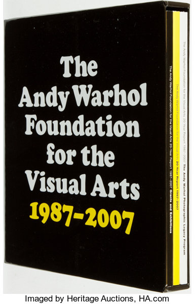 the andy warhol foundation 20 year report 1987 2007 three volumes