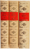 Books:Literature Pre-1900, [Literature]. Group of Three Books. Roslyn: Black's ReadersService, [various dates]... (Total: 3 Items)
