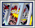 Prints, Roy Lichtenstein (1923-1997). Reflections on Crash (from Reflections series), 1990. Lithograph, screenprint, and rel...