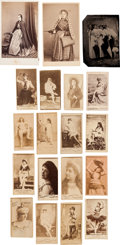 "Photography:Studio Portraits, ""Pretty Ladies"": A Group Lot of 105 19th Century Cards Plus Womenwith Umbrellas...."