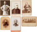 Photography:Studio Portraits, Political & Military Figures: Fourteen 19th-Century Cabinet Cards....