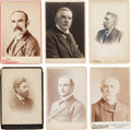 Photography:Studio Portraits, Labor & Social Leaders: Twelve Identified Cabinet Photos of19th-early 20th Century Leaders, Including John Mitchell &Knights...