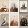 Photography:Studio Portraits, Prominent Men: Thirty-five Identified 19th-early 20th CenturyFigures....