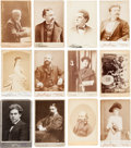 Photography:Cabinet Photos, Artists and Musicians: Thirty-five Mostly-Identified Late19th-early 20th Century Cabinet Photos....