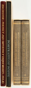 Books:Literature 1900-up, [Folio Society]. [Imprint Society]. Group of Three Poetry Books, Two of Which are SIGNED/LIMITED. Various publishers and dat... (Total: 3 Items)