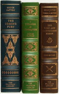 Books:Fine Bindings & Library Sets, [Fine Binding & Library Sets]. Bruce Catton. Trio of Titles, Two of Which are SIGNED. The Franklin Library, [various dates].... (Total: 3 Items)