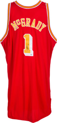 reputable site 4a17d d7b18 2004-05 Tracy McGrady Game Worn Houston Rockets Jersey ...