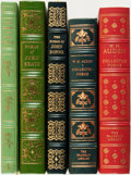 Books:Fine Bindings & Library Sets, [Fine Binding & Library Sets]. [Poetry]. Group of Five Easton Press and Franklin Library Books. Various publishers and dates... (Total: 5 Items)