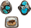 Western Expansion:Indian Artifacts, Native American Jewelry.... (Total: 3 Items)