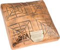 Baseball Collectibles:Others, 1970 World Series Game Used Third Base (Bronzed) from The BrooksRobinson Collection....