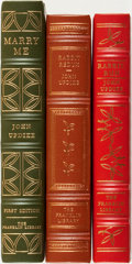 Books:Fine Bindings & Library Sets, [Fine Binding & Library Sets]. John Updike. Group of Three Titles, Two of Which are SIGNED. The Franklin Library, [various d... (Total: 3 Items)