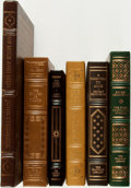 Books:Fine Bindings & Library Sets, [Fine Binding & Library Sets]. [American Literature]. Group of Six Titles Franklin Library and Easton Press Books. Various p... (Total: 6 Items)