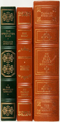 Books:Fine Bindings & Library Sets, [Fine Binding & Library Sets]. Wallace Stegner. Group of Three Titles, One of Which is SIGNED. The Franklin Library, [variou... (Total: 3 Items)