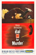 "Movie Posters:Hitchcock, Dial M for Murder (Warner Brothers, 1954). One Sheet (27"" X40.5"").. ..."