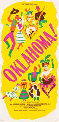 "Movie Posters:Musical, Oklahoma! (Theatre Guild, 1943). Broadway Three Sheet (41"" X 81"")....."