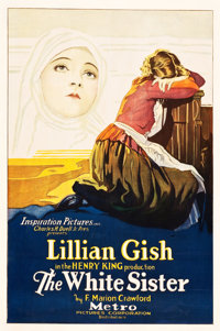 "The White Sister (Metro, 1923). One Sheet (27"" X 41"")"