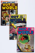 Silver Age (1956-1969):Horror, Out of This World Group of 4 (Charlton, 1956-59) Condition: AverageVG+.... (Total: 4 Comic Books)