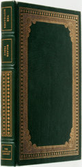 Books:Fine Bindings & Library Sets, Walker Percy. SIGNED. The Moviegoer. Franklin Center: The Franklin Library, 1980....