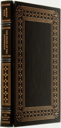 Books:Fine Bindings & Library Sets, Morris West. SIGNED. The Shoes of the Fisherman. Franklin Center: The Franklin Library, 1980....