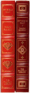 Books:Fine Bindings & Library Sets, [Fine Binding & Library Sets]. Ralph Ellison. Two Copies of The Invisible Man with Alternate Artists. Franklin C... (Total: 2 Items)