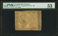 Colonial Notes:Continental Congress Issues, Continental Currency September 26, 1778 $40 PMG About Uncirculated53.. ...
