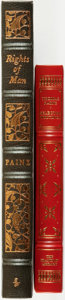 Books:Fine Bindings & Library Sets, [Fine Binding & Library Sets]. Thomas Paine. Pair of Titles. Includes: Common Sense / The American Crisis / Age of Reaso... (Total: 2 Items)