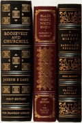 Books:Fine Bindings & Library Sets, [Fine Binding & Library Sets]. [World History]. Group of Three Titles. The Franklin Library, [various dates].... (Total: 3 Items)