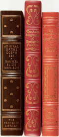 Books:Fine Bindings & Library Sets, [Fine Binding & Library Sets]. [American History]. Group of Three Franklin Library and Easton Press Titles. Various publishe... (Total: 3 Items)