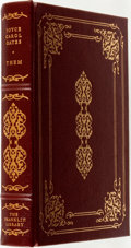Books:Fine Bindings & Library Sets, Joyce Carol Oates. SIGNED. Them. Franklin Center: The Franklin Library, 1979....