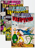 Silver Age (1956-1969):Horror, Tales of the Unexpected Group of 5 (DC, 1962-66) Condition: AverageVF.... (Total: 5 Comic Books)