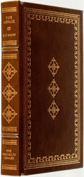 Books:Fine Bindings & Library Sets, C. P. Snow. SIGNED. The Affair. Franklin Center: The Franklin Library, 1981....