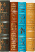 Books:Fine Bindings & Library Sets, [Fine Binding & Library Sets]. [Literature]. Group of Four Easton Press and Franklin Library Books. Various publishers and d... (Total: 4 Items)