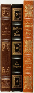 Books:Fine Bindings & Library Sets, [Fine Press & Library Bindings]. [Russian Literature]. Trio of Easton Press and Franklin Library Titles. Various publishers ... (Total: 3 Items)