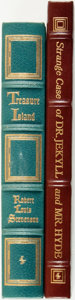 Books:Fine Bindings & Library Sets, [Fine Binding & Library Sets]. Robert Louis Stevenson. Pair of Titles. Includes: Treasure Island. [together wit... (Total: 2 Items)