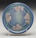 Ceramics & Porcelain, American:Modern  (1900 1949)  , Newcomb College Semi-Matte Glazed Ceramic Round Tile by SadieIrvine. Circa 1923. Incised and painted NC, NL77, (cipher). Di...