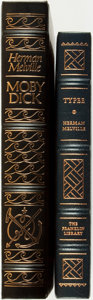 Books:Fine Bindings & Library Sets, [Fine Binding & Library Sets]. Herman Melville. Pair of Titles. Includes: Moby Dick, or The Whale. Norwalk: The ... (Total: 2 Items)