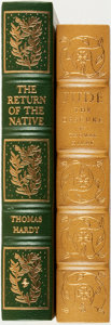 Books:Fine Bindings & Library Sets, [Fine Bindings & Library Sets]. Thomas Hardy. Pair of Literature Titles. Includes: Jude the Obscure. [together with:... (Total: 2 Items)