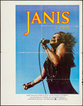 "Movie Posters:Rock and Roll, Janis (Universal, 1975). Poster (35"" X 45""). Rock and Roll.. ..."