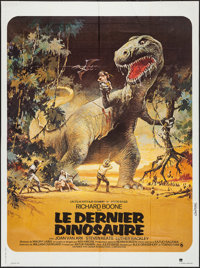 "The Last Dinosaur (CIC, 1977). French Grande (47"" X 63""). Science Fiction"