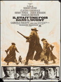 """Movie Posters:Western, Once Upon a Time in the West (Paramount, 1970s). French Grande (47"""" X 63""""). Western.. ..."""