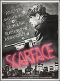 """Movie Posters:Crime, Scarface (Shelltrie, R-1970s). French Grande (46.5"""" X 62.5"""").Crime.. ..."""