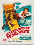 """Movie Posters:Comedy, The Perils of Pauline (Paramount, 1947). French Grande (47"""" X 63""""). Comedy.. ..."""