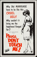 Movie Posters:Exploitation, Please Don't Touch Me & Other Lot (Ormond, 1963). One Sheets(2) ... (Total: 2 Items)