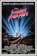"""Movie Posters:Science Fiction, Invaders from Mars (Cannon, 1986). One Sheet (27"""" X 41"""") PG & R-Rated Styles. Science Fiction.. ... (Total: 2 Items)"""