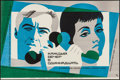 """Movie Posters:Foreign, Each Evening at Eleven (Mosfilm, 1969). Russian Poster (22"""" X 33.5""""). Foreign.. ..."""