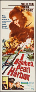 "Movie Posters:War, I Bombed Pearl Harbor (Parade, 1961). Insert (14"" X 36""). War.. ..."