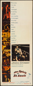 """Movie Posters:Drama, The Spirit of St. Louis (Warner Brothers, 1957). Insert (14"""" X 36""""). Drama.. ..."""